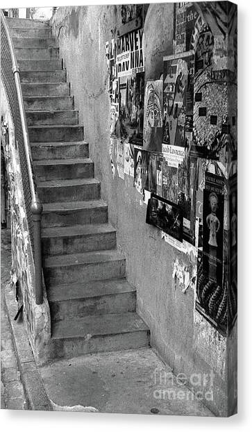 Seattle Stairs Canvas Print