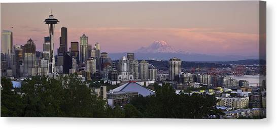 Seattle Sunset - Kerry Park Canvas Print