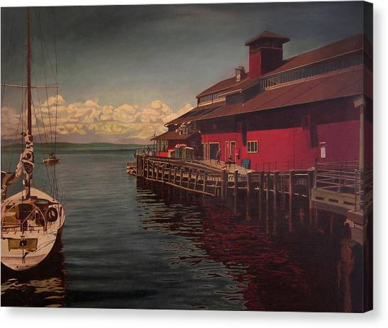 Seattle Waterfront Canvas Print