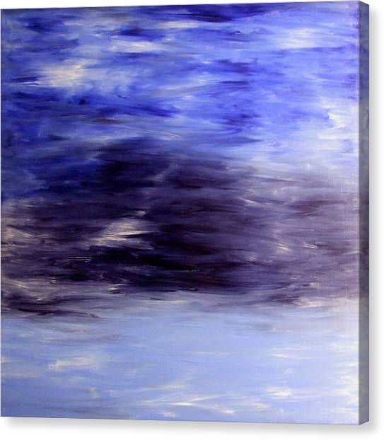 Seawards Canvas Print