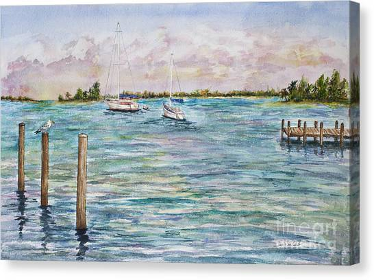 Sebastian Marina Canvas Print
