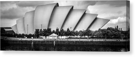 Secc Glasgow Canvas Print