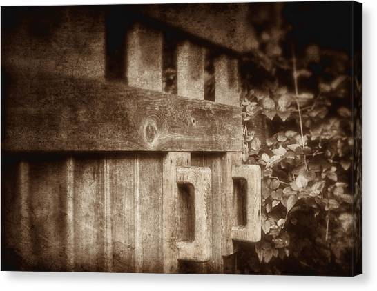 Bush Canvas Print - Secluded Garden by Tom Mc Nemar