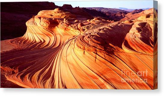 Second Wave In The North Coyote Buttes Canvas Print