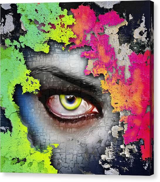 Seer Canvas Print - Secret Admirer  by Anthony Mwangi