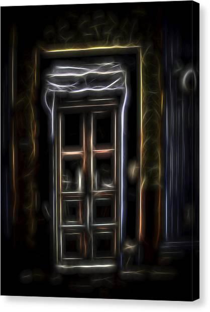 Secret Doorway Canvas Print