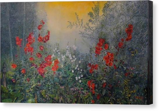 Secret Garden 110x180 Cm Canvas Print
