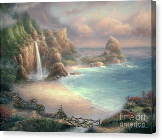 Postcards Canvas Print - Secret Place by Chuck Pinson
