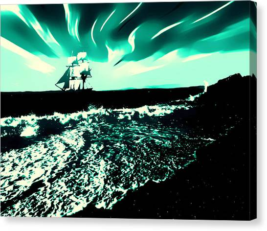 Secret Storm Canvas Print