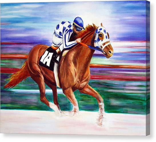 Secretariat  Canvas Print
