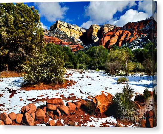 Sedona Arizona - Wilderness Canvas Print