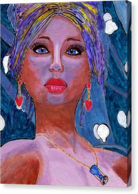 Sedona Moonlight Canvas Print