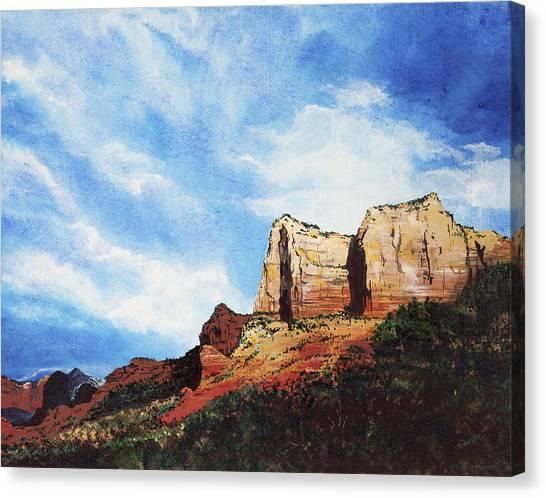 Sedona Mountains Canvas Print