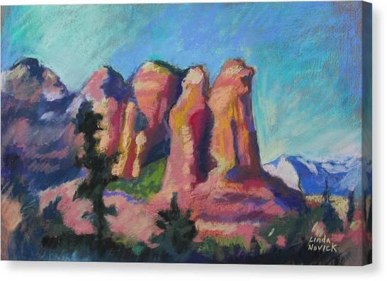 Sedona Peaks Canvas Print