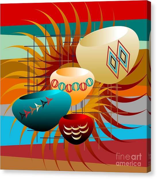 Sedona Still Life 2012 Canvas Print