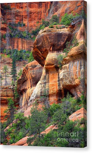 Sedona Stripes Canvas Print