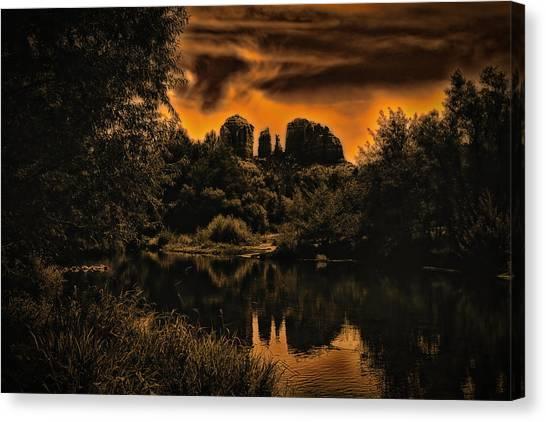 Sedona Sundown ... Canvas Print