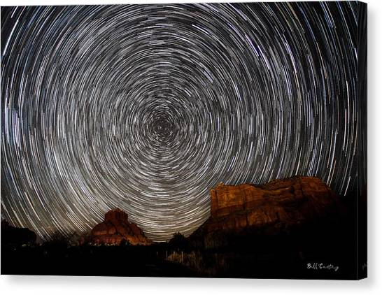 Shooting Stars Canvas Print - Sedona Trails by Bill Cantey