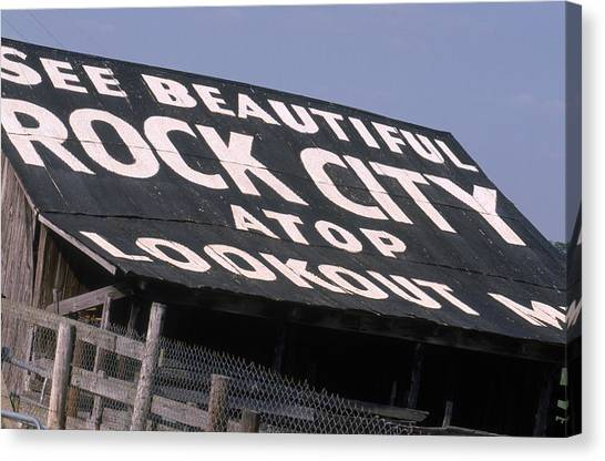 See Rock City Canvas Print