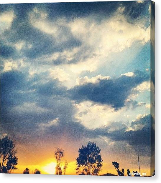 Happy Birthday Canvas Print - See The Afternoon Paradise by Kevin Matos