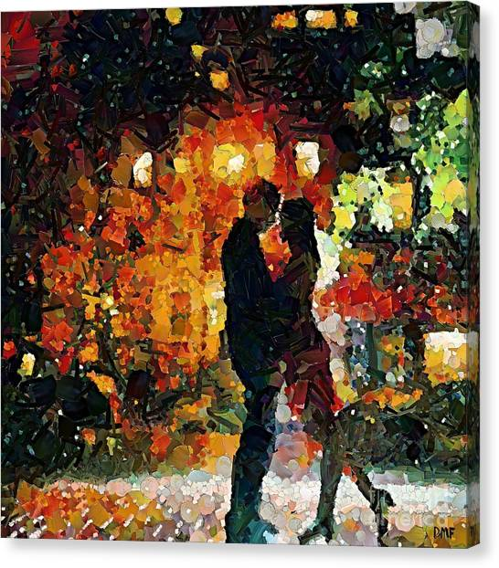 See You Tomorrow My Love Canvas Print