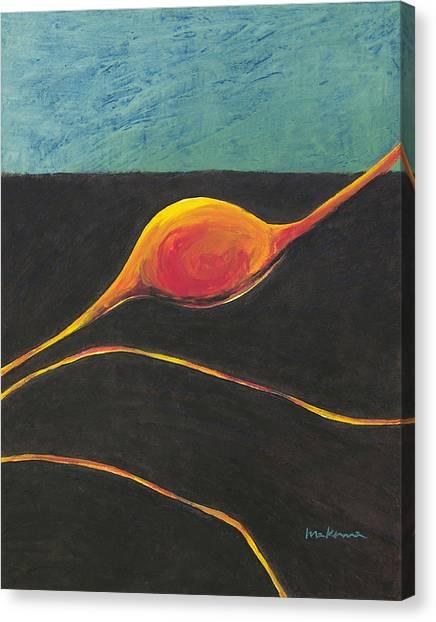 Seed Nucleus Canvas Print