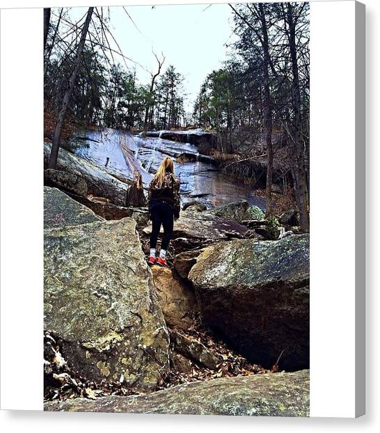 South Carolina Canvas Print - Seek Adventure by Peyton  Turbeville