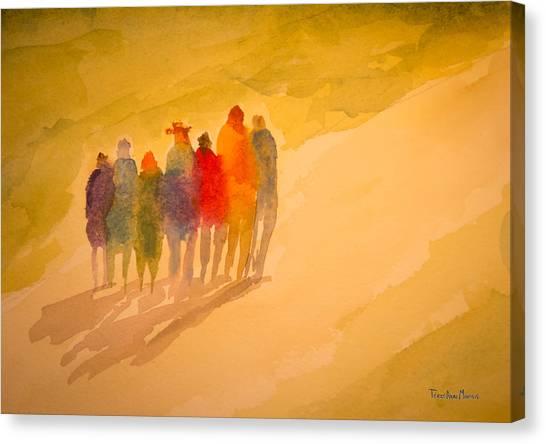 Seekers I Canvas Print