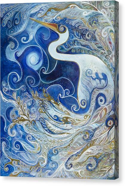 Seeking Balance Canvas Print