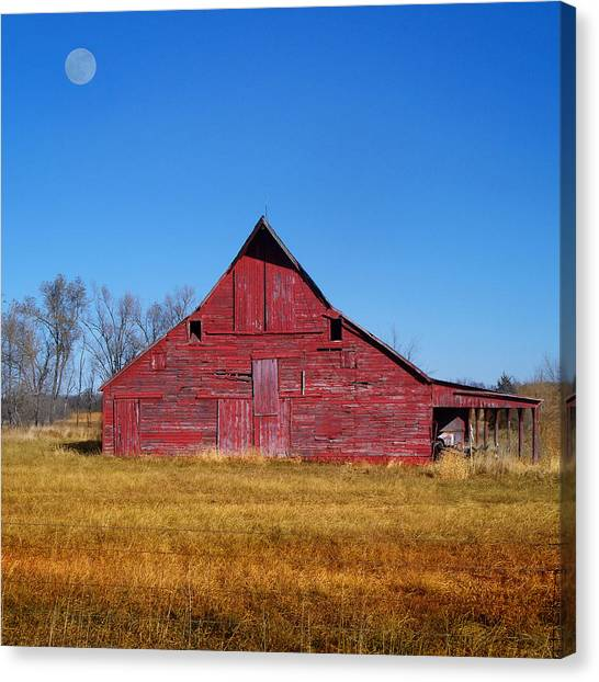 Seen Many Moons Canvas Print