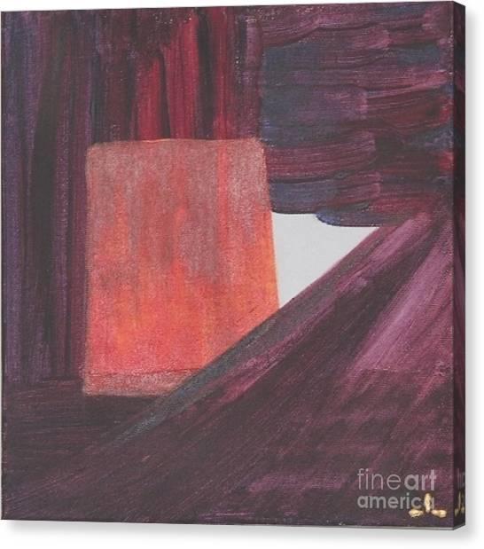 Canvas Print featuring the painting Self-esteem Self-esteem  by Ilona Svetluska
