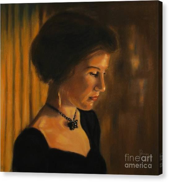 Self Portrait 1 Canvas Print
