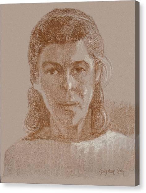 Self Portrait 1990 Canvas Print