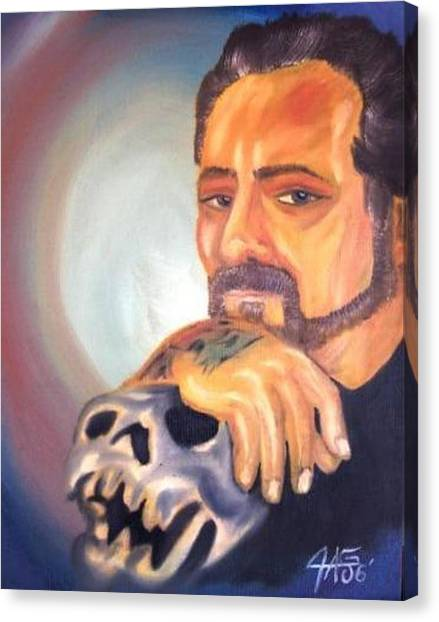 Self Portrait 2006 Canvas Print