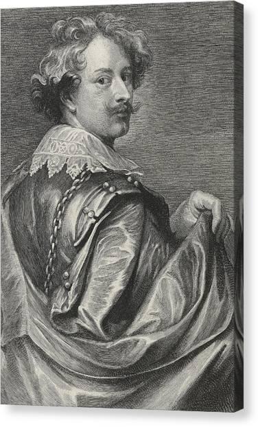 Baroque Canvas Print - Self Portrait by Sir Anthony van Dyck