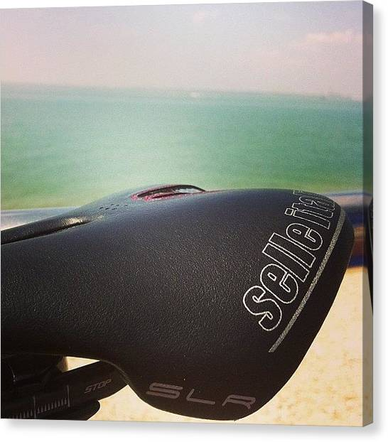 Saddles Canvas Print - #selleitalia #slr #kitcarbino #carbon by Niall Russell