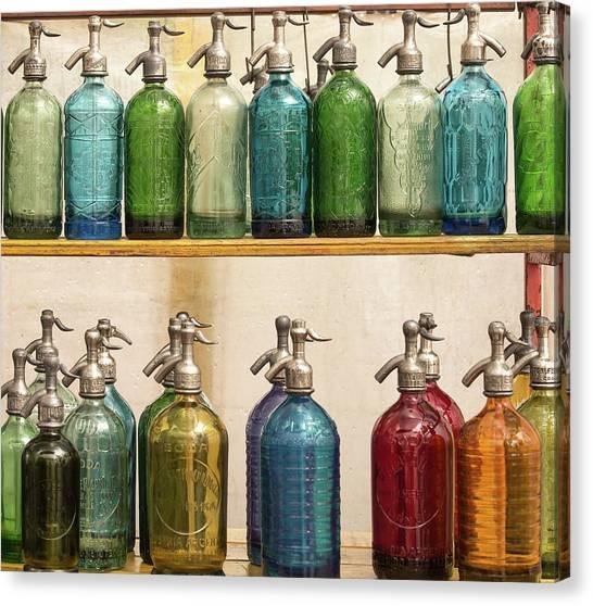 Seltzer Bottles Canvas Print by Ugur Erkmen