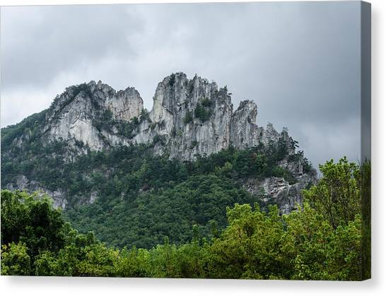 Seneca Rock Canvas Print