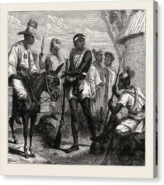Influence Canvas Print - Senegambian People. As A Political Unit by Litz Collection