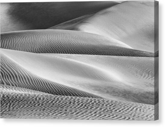 Death Valley Canvas Print - Sensuality by Jon Glaser