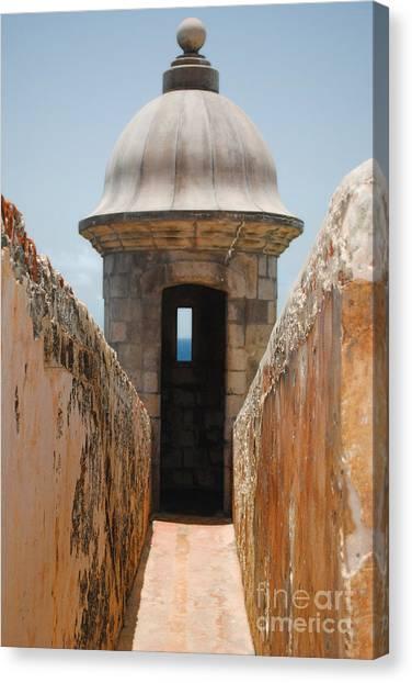 Sentinel Tower Canvas Print