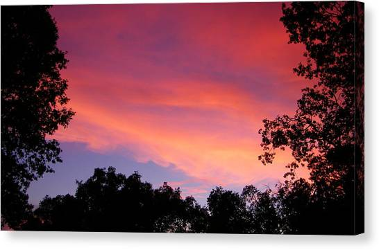 September Color Canvas Print
