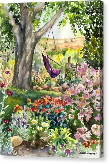 September Garden Canvas Print
