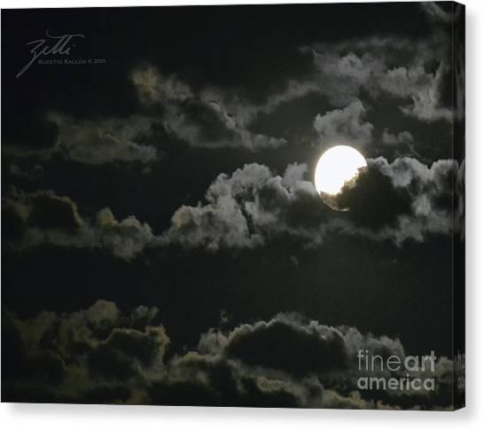 September Moon Canvas Print