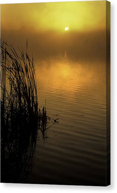 September Morn Canvas Print