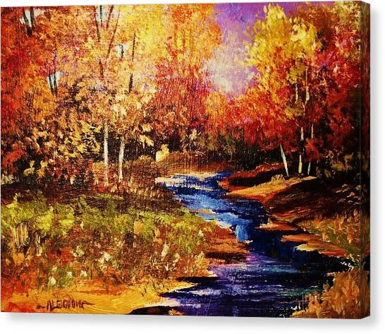The Brilliance Of Autumn Canvas Print