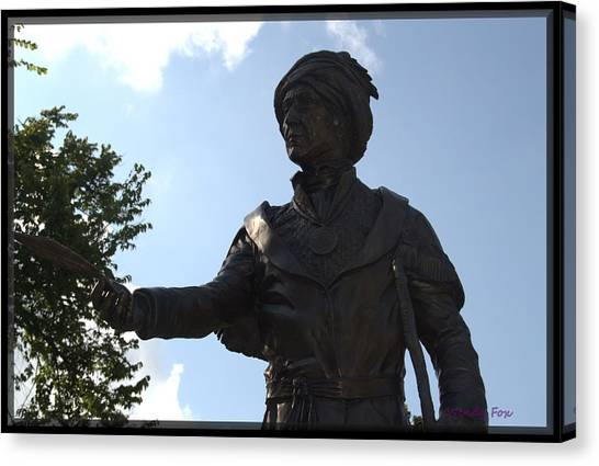 Northeastern University Canvas Print - Sequoyah by Wendy Fox