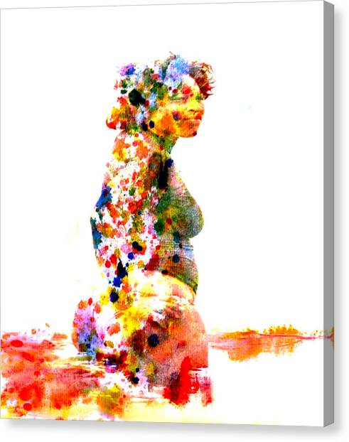 Venus Williams Canvas Print - Serena Williams by Brian Reaves