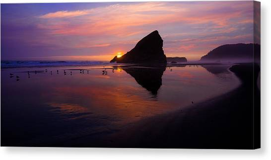 Oregon Canvas Print - Serenade by Chad Dutson