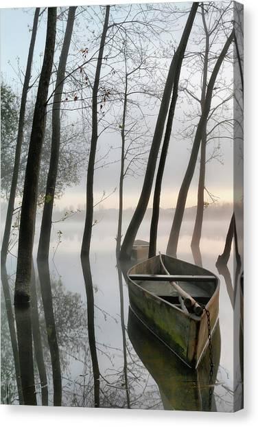 Serene Canvas Print - Serene Dawn by Rui David